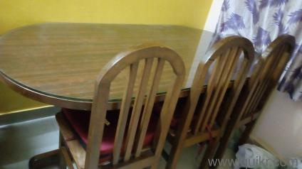 Teak Wood Dining Table Price In Bangalore Wooden dining Table set