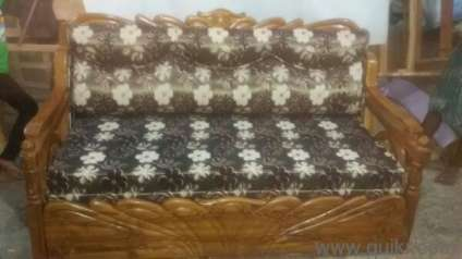 Latest Version Of Sofa Cum Bed With Sagoon Wood Now In