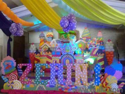 Balloon decoration party planner rohtak in gurgaon event for Balloon decoration in pune
