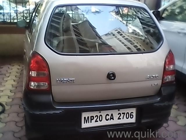 Other 2007 maruti suzuki alto lxi 1 50 000 kms driven in for Alto car decoration