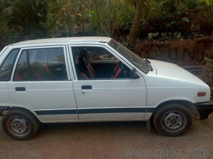 White before 1995 maruti suzuki maruti 800 std 75000 kms for Maruti 800 decoration