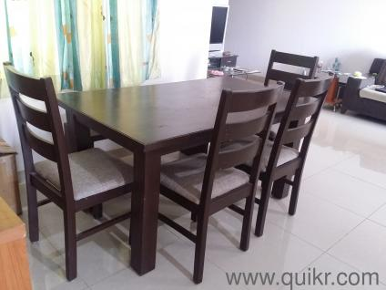 6 Seater big size Solid Wood Dinning Table - Gently Home - Office Furniture  - Pune  QuikrGoods
