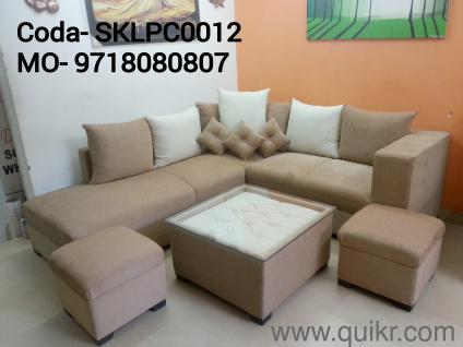 New Branded 6 Seater Sofa Set With 2 Ottoman Center Table