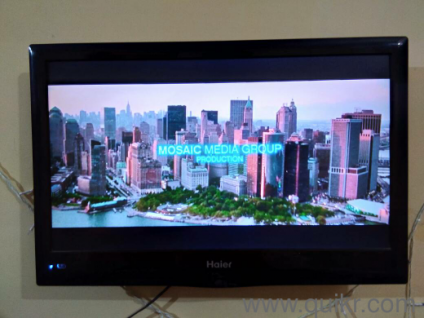 haier 22 inch led tv. haier selling 2 years old 22inch led in a very good condition only on 5500rs, i bought it 14000rs - used tv dvd multimedia abul fazal enclave 22 inch led tv