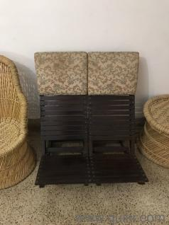 Low seating chairs - 2 nos 1000 each