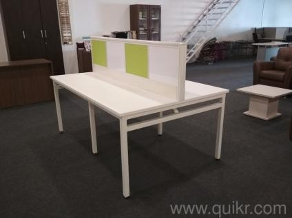 office desking. New 4 Persons Seating Office Desk On Sale - Brand Home Furniture Pune | QuikrGoods Desking