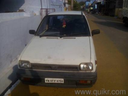 white 1997 maruti suzuki maruti 800 std bsii 45000 kms driven in in rh quikr com Ambassador Car Maruti 800 Engine