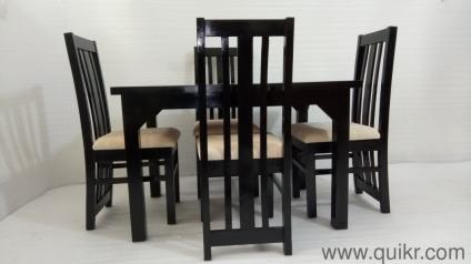 4 Seater Dining Table Brand New 100 ASSAM TEAK WOOD For Sale Instant Buy Now Discount Of 50 Rs 250 FLAT DISCOUNT